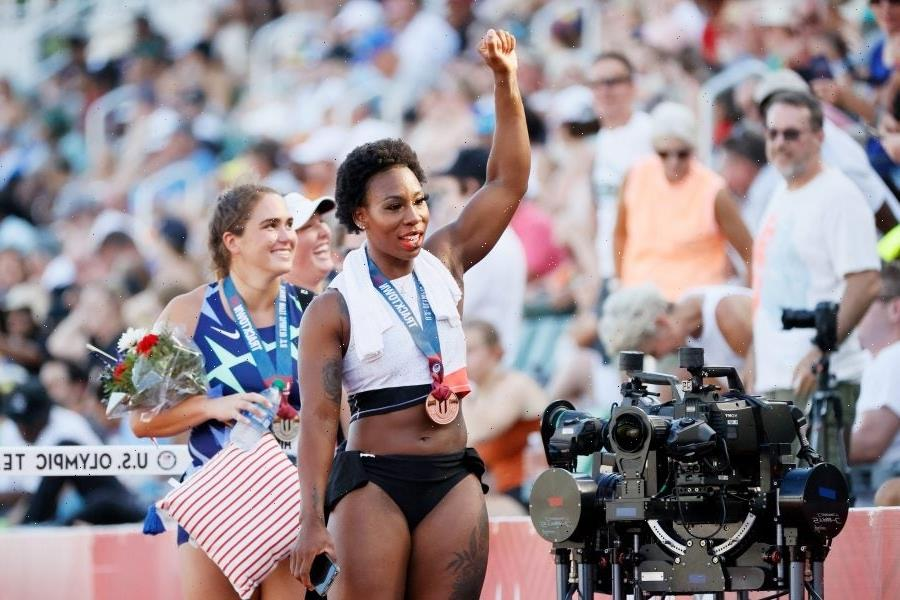 Gwen Berry Wins a Spot on the Olympics, Drops a History Lesson After Protesting National Anthem