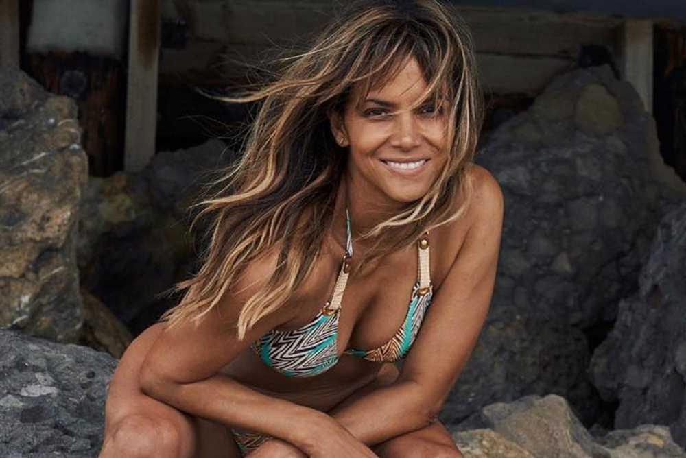 Halle Berry, 54, stuns on the beach in sexy string bikini