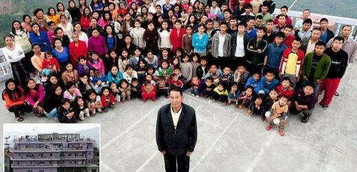 Head of 'world's largest family' dies in India
