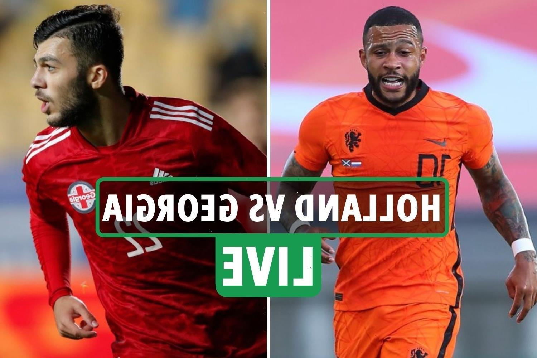 Holland vs Georgia LIVE: Stream, TV channel, team news Euro 2020 warm-up clash – latest updates