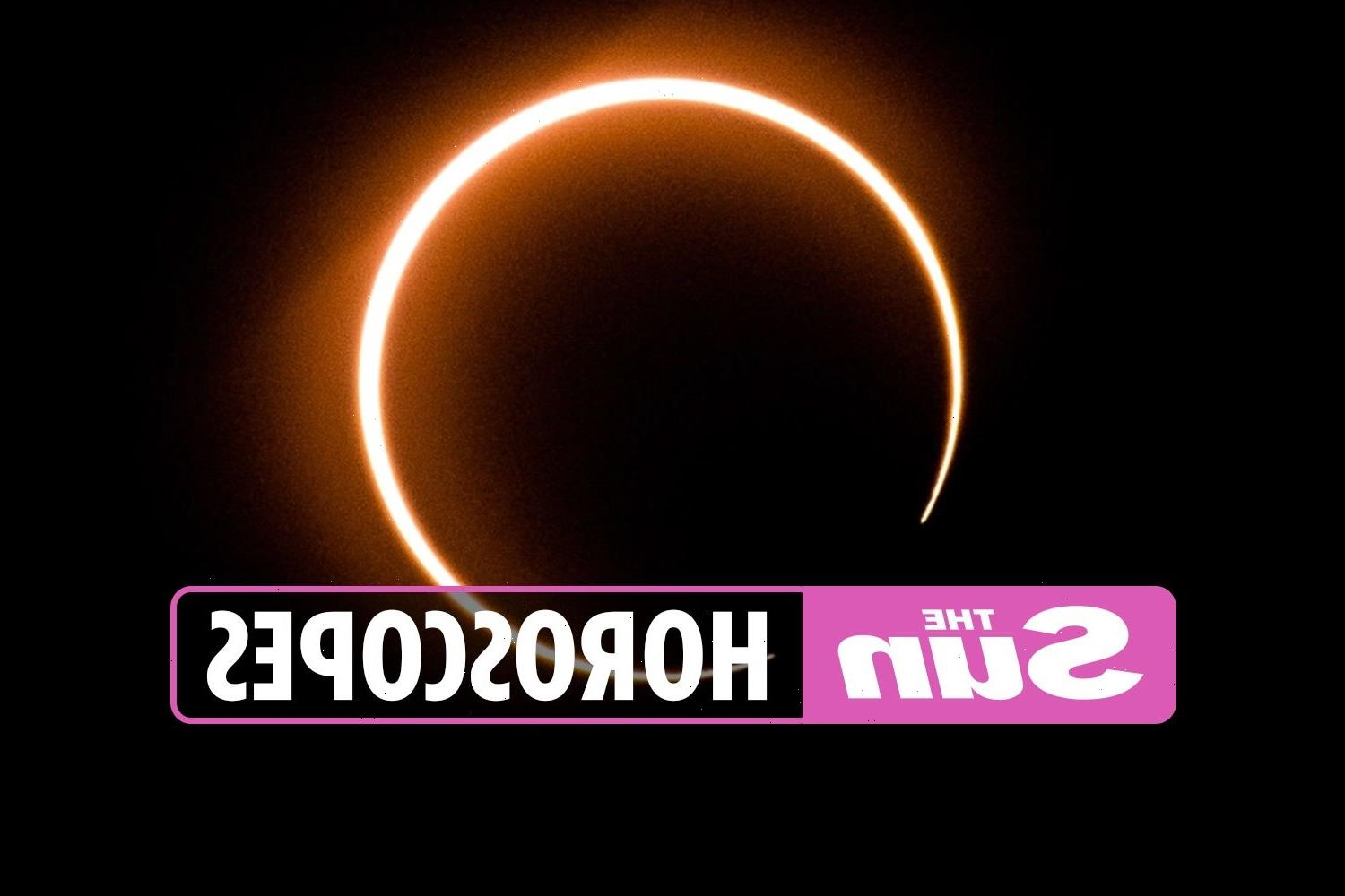 How the ring of fire solar eclipse affects the zodiac: From Aries to Pisces