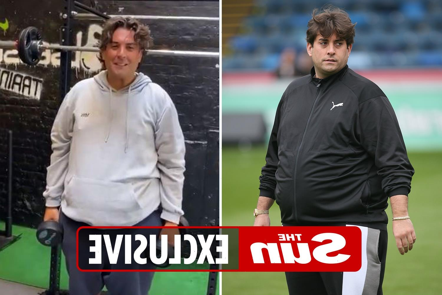 James Argent has lost FIVE stone after gastric band surgery and 'feels 10 years younger' – but he's still got 3st to go
