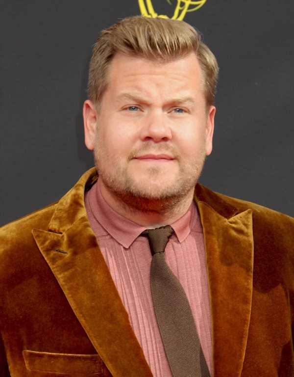 James Corden says he'll change 'Spill Your Guts' after it was called out for racism