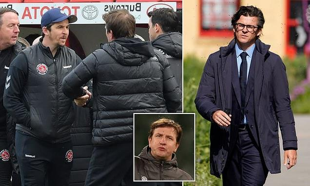 Joey Barton arrives at court for trial over 'assault on Barnsley boss'