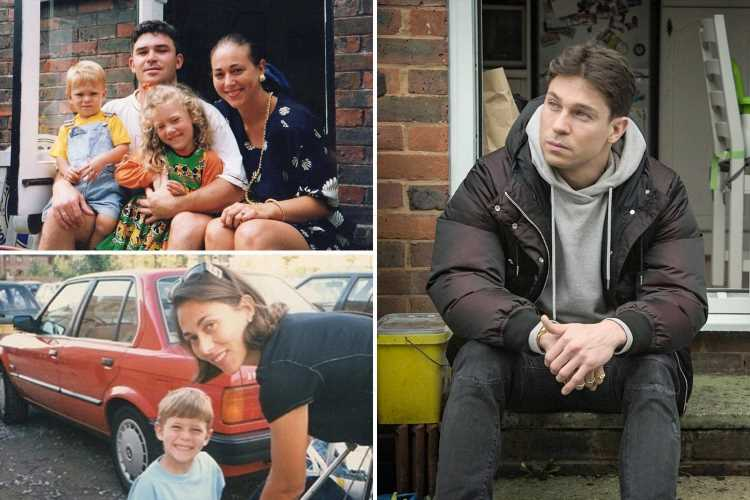 Joey Essex fans in tears as Towie star shares old childhood videos of him and his mum before her tragic suicide