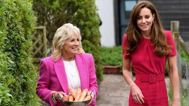 Kate Middleton and First Lady Jill Biden Meet for First Time: PICS
