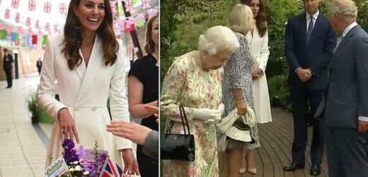 Kate Middleton called Prince Charles 'grandpa' at Eden Project event