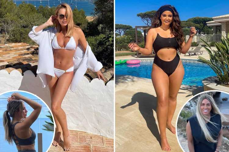 Katie Price rushes back from Portugal as it's taken off green list but Jac Jossa and Amanda Holden stay on holiday