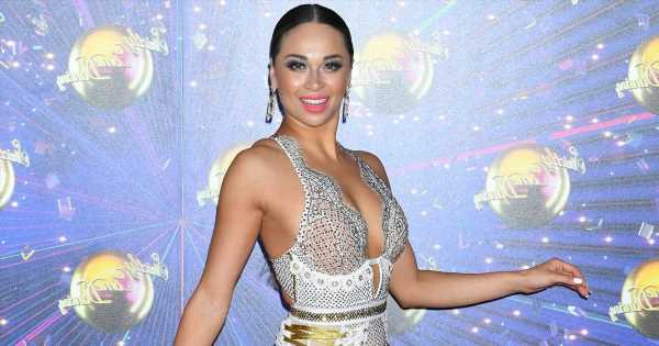 Katya Jones says trolls targeted her for being 'chunky' when she was a size 8