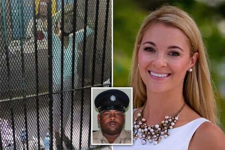 Lord Ashcroft's daughter-in-law Jasmine Hartin 'admitted to accidentally shooting cop when threatened with COKE charge'