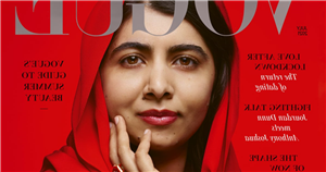 """Malala Yousafzai Covers British Vogue in Her Headscarf: """"You Can Have Your Own Voice Within Your Culture"""""""