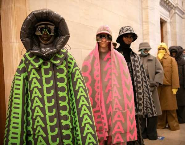 Marc Jacobs Returns to the Runway With Puffer Coats and Pure Joy