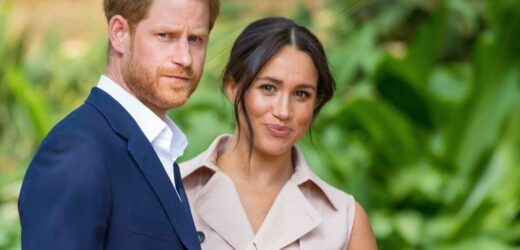 Meghan Markle may fly to UK to 'support Harry at Diana memorial as family ties have WORSENED since Philip's funeral'
