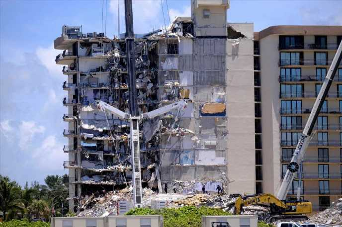 Miami condo collapse – Official who signed off on building in 2018 is SUSPENDED as death toll rises to 12 & 149 missing