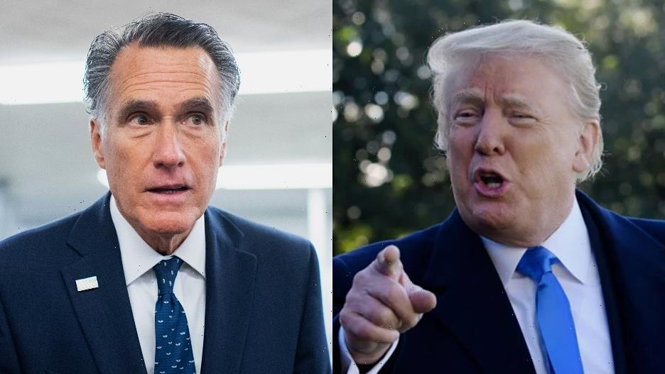 Mitt Romney Ridicules Trump's Big Lie Push: 'This Is Like WWF, That It's Entertaining, But It's Not Real'