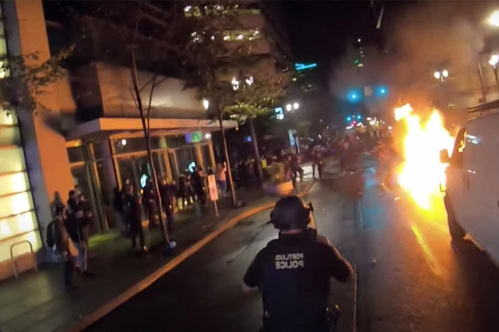 More than two dozen Antifa rioters charged for Portland mayhem