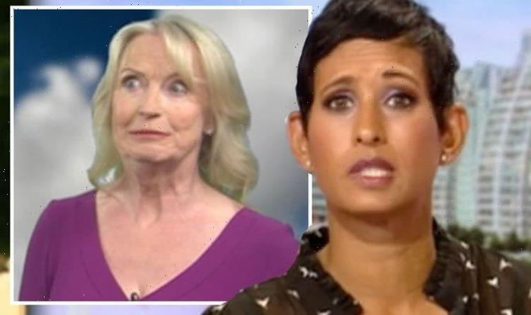 Naga Munchetty apologises to BBC co-star for being cynical as they replace Carol Kirkwood