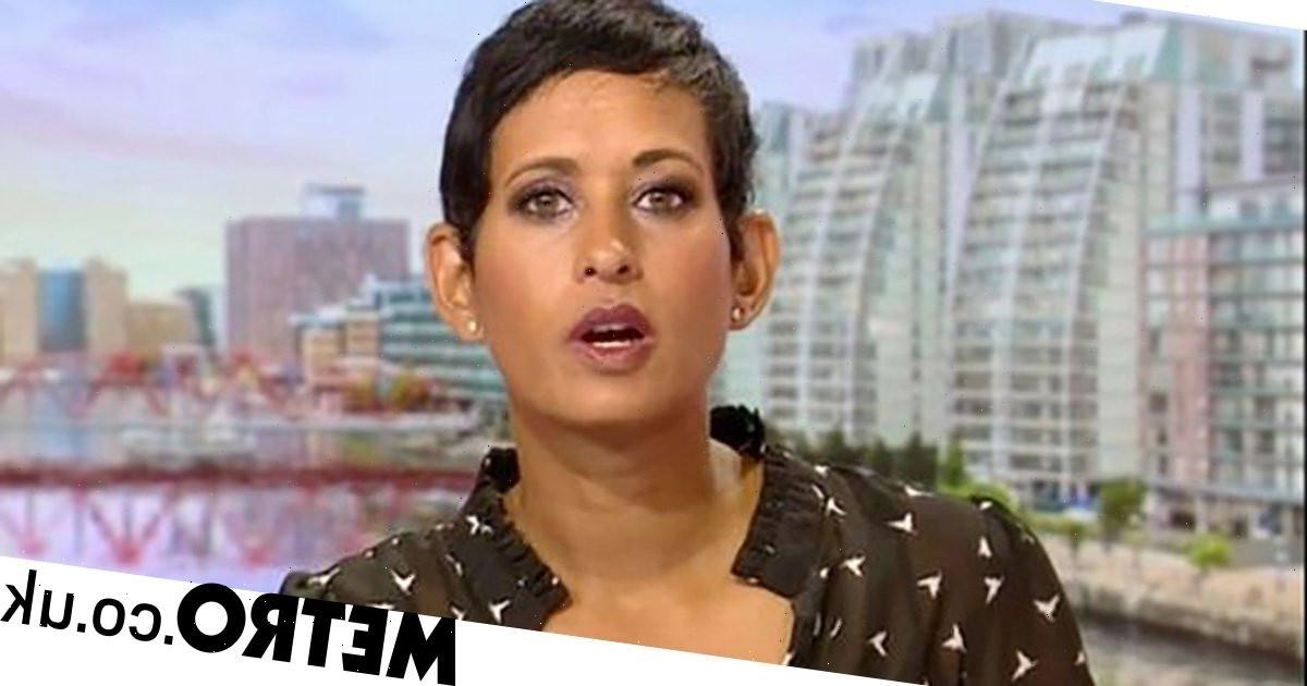 Naga Munchetty confuses person for an actual walrus on BBC Breakfast