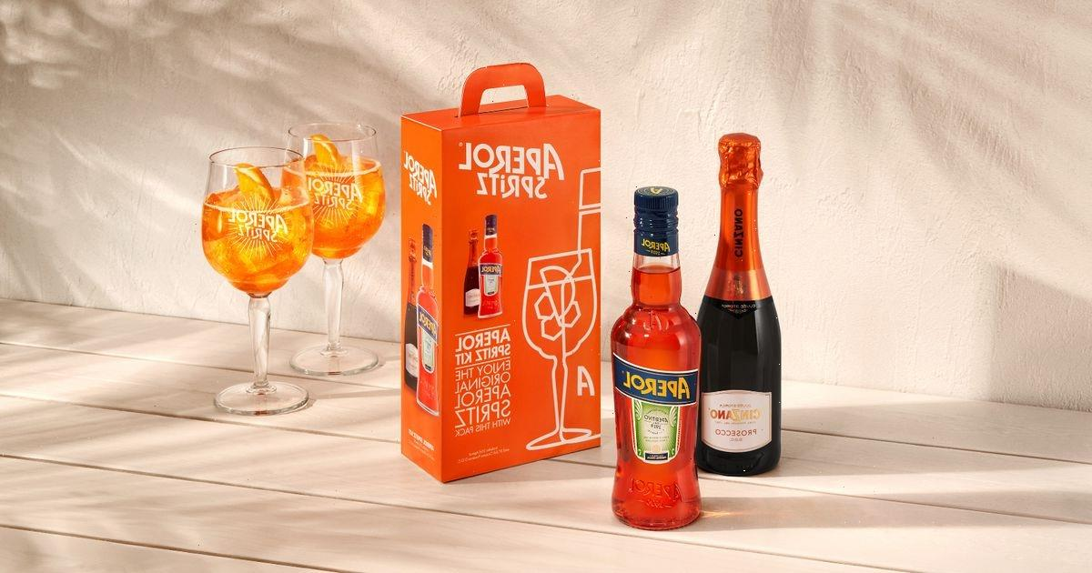 New Aperol Spritz Kits allow you to make portable cocktails on the go