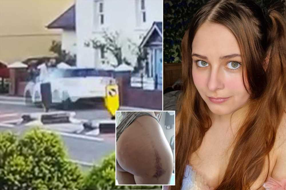 OnlyFans model flung into air in terrifying caught-on-video car crash