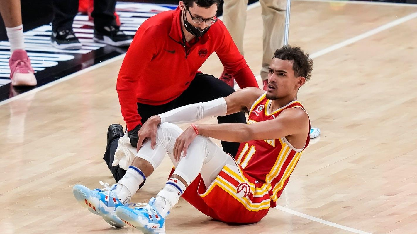 Opinion: Hawks' chances of pulling another NBA playoff upset might be felled by fluke injury to Trae Young