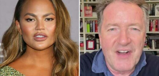 Piers Morgan calls Chrissy Teigen a 'repulsive hypocritical bully' who should be CANCELLED after her trolling confession