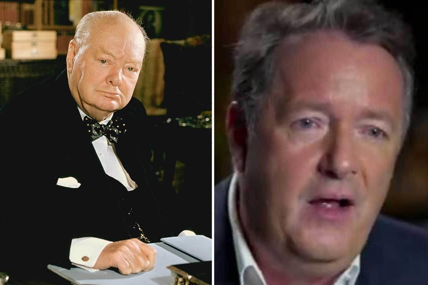 Piers Morgan compares himself to Winston Churchill and says having Meghan Markle as an 'enemy' is good