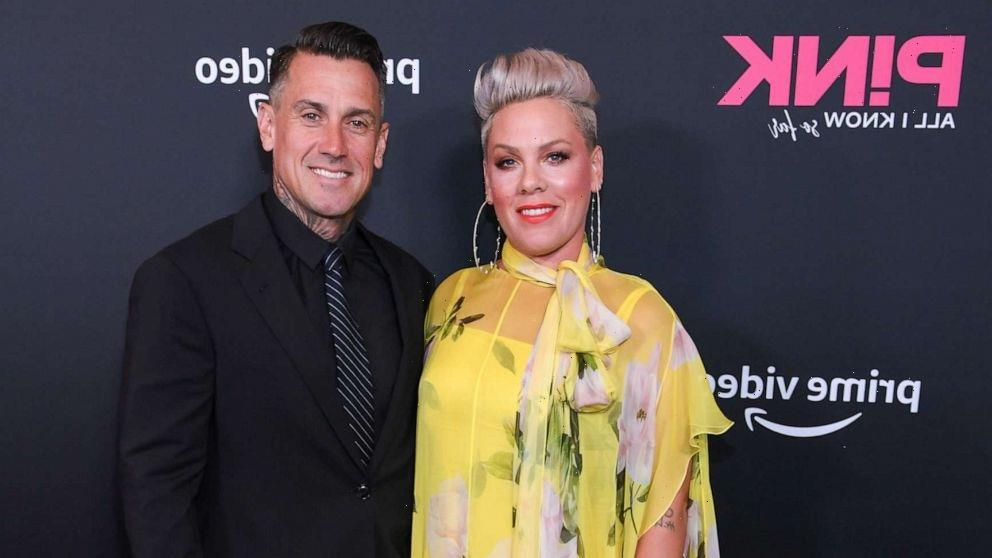 Pink's husband Carey Hart reflects on how fans of his superstar wife perceive him