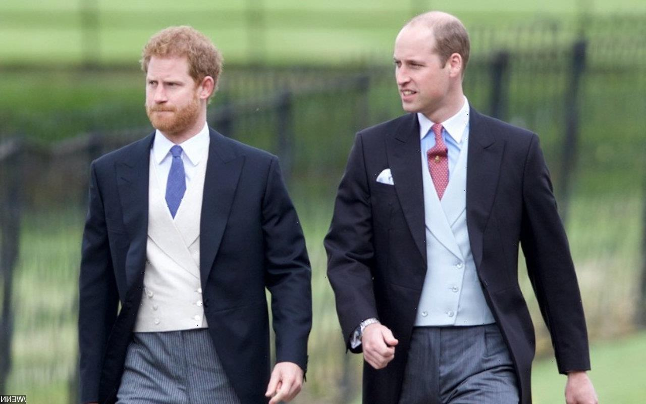 Prince William and Prince Harry Fighting 'Fiercely' at Prince Phillip's Funeral Despite United Front