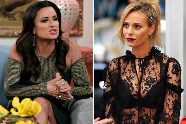 RHOBH's Dorit Kemsley insists she's NEVER had a nose job but friend Kyle Richards claims she's 'lying'