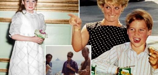 Rare Princess Diana pics you might have never seen – from a 1970 family wedding to her eating with William & Harry
