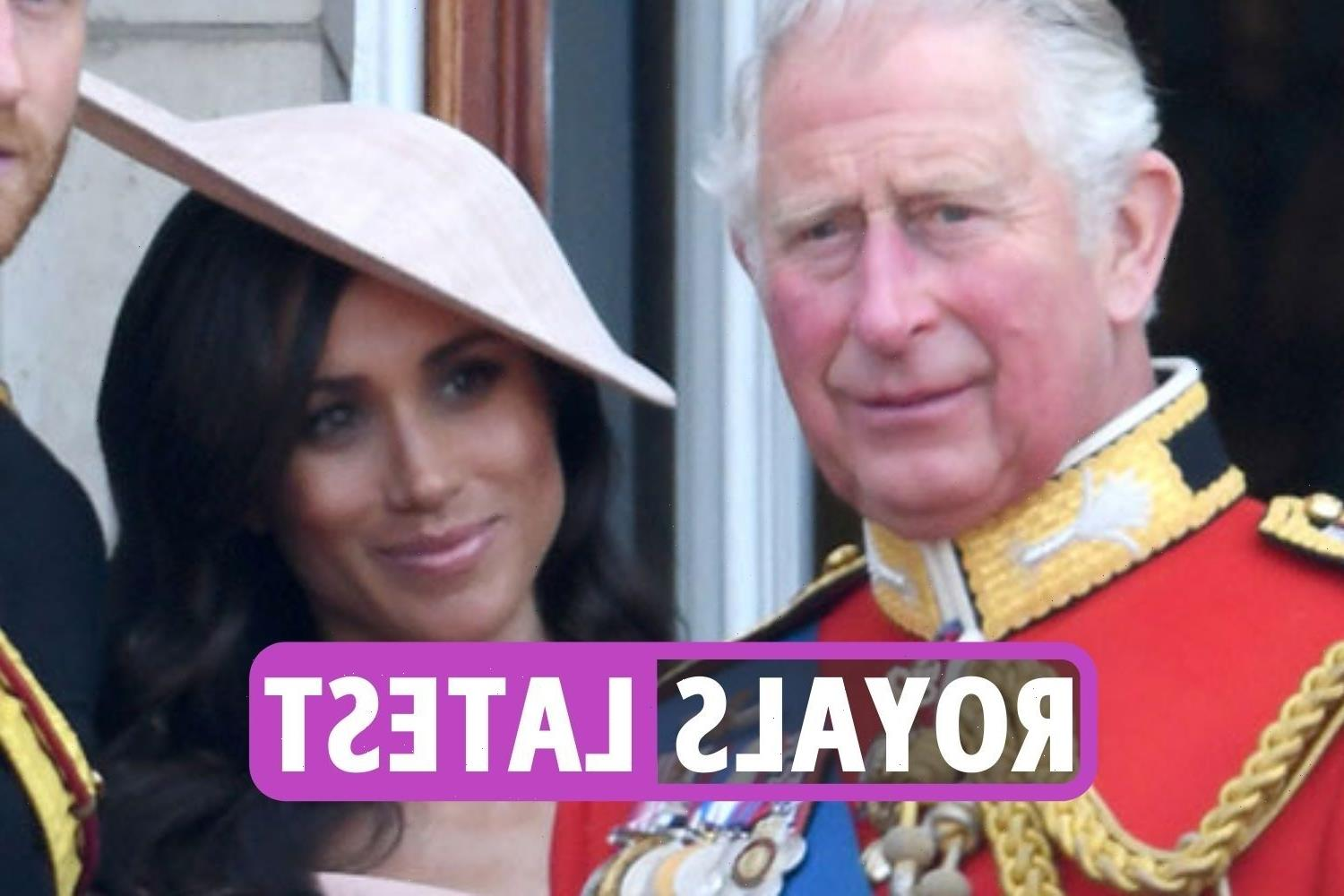 Royal Family news – Prince Charles IGNORING brutal Meghan Markle and Prince Harry feud 'until raw emotions settle down'