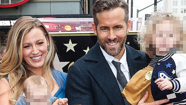 Ryan Reynolds Says He Wants To 'Destigmatize' Mental Health For Daughters James, 6, Inez, 4, & Betty, 1