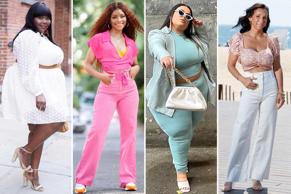 See ya, sweats! New Yorkers are going bold with their summer fashion