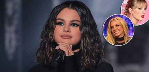 Selena Gomez: Taylor Swift and Britney Spears Influenced My On-Stage Style