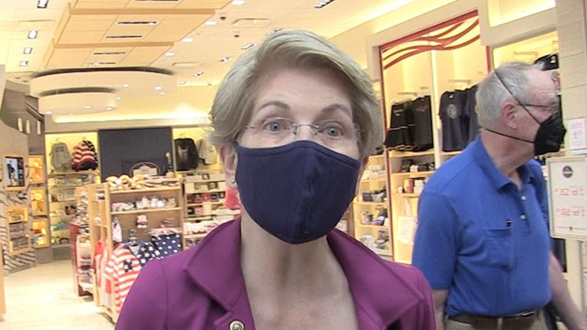 Sen. Elizabeth Warren Rips Jeff Bezos for Trip to Space