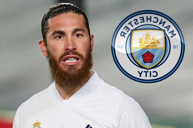 Sergio Ramos 'has transfer offers from Man City, PSG and Bayern Munich' but has concerns over transfer to Manchester