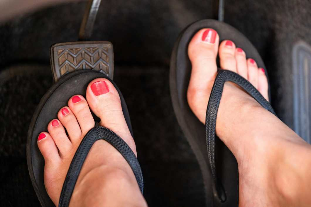 Six reasons you could get fined in hot weather, including £5,000 for driving in flip flops