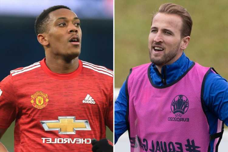 Six strikers Tottenham could replace Harry Kane with including Man Utd's Anthony Martial and Dusan Vlahovic