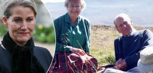 Sophie of Wessex tears up remembering her father-in-law Prince Philip