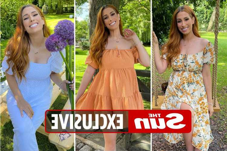 Stacey Solomon looks stunning as she models brand new summer range with In The Style