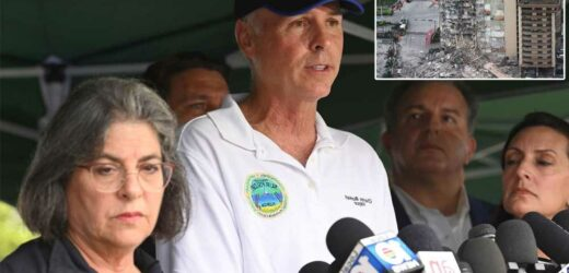 Surfside mayor calls for evacuation of collapsed condo's sister building