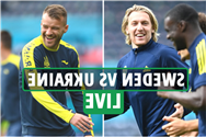 Sweden vs Ukraine LIVE: Stream FREE, TV channel, team news for Euro 2020 last-16 clash at Hampden Park – latest updates