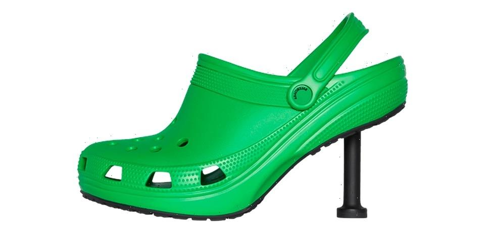 Take Better Look at Balenciaga's Crocs Stiletto Clogs Collab