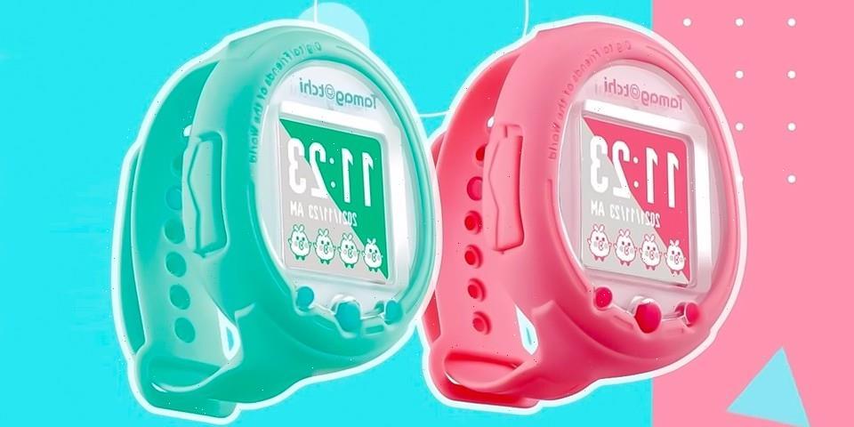 Tamagotchi Celebrates 25th-Anniversary With a Smartwatch