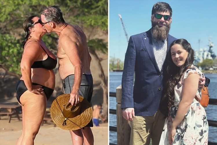 Teen Mom Jenelle Evans' husband David BANNED from Facebook for a week after he 'fat-shamed' actor Pierce Brosnan & wife