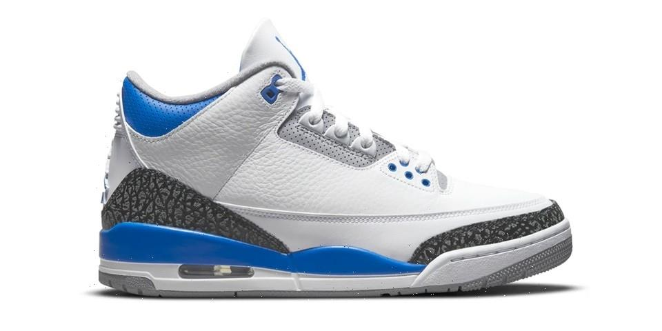 "The Air Jordan 3 Retro ""Racer Blue"" Receives Official Release Date"