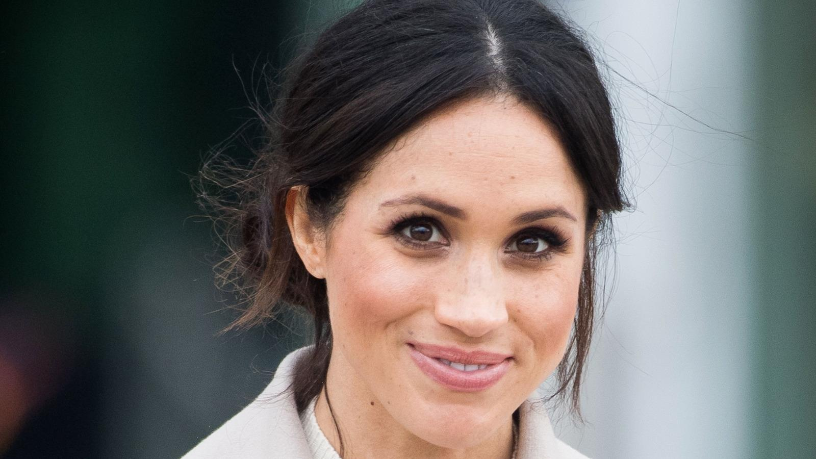 The Hair Texture Spray That Meghan Markle Swore By On Suits