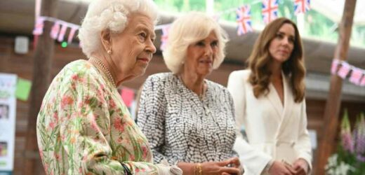 The 'Unusual' Thing The Queen Did That Had Kate Middleton And Camilla Parker Bowles Smiling