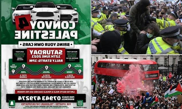Thousands of pro-Palestine protestors plan Downing Street demo